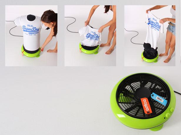 Hot Air Iron Fan