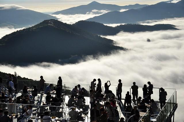 sea of clouds at Tomamu - 19