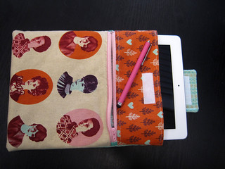 ipad case - open