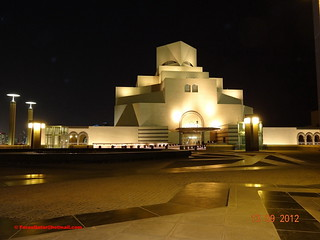 Museum of Islamic Art - Qatar ( Night Shot ) .