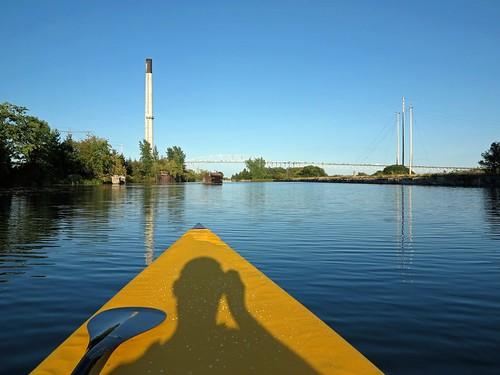 shadow selfportrait self cornwall paddle canoe bow hybrid cornwallcanal g1x