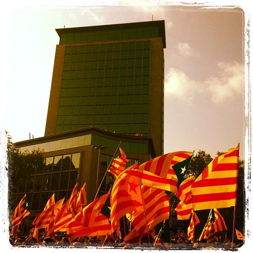 Arribant al cel #11s2012 #DiadaTV3 #freedomforcatalonia