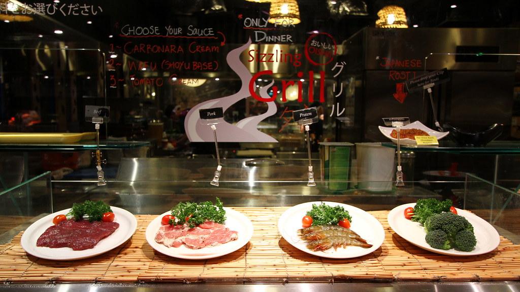 Kiseki日本自助餐餐厅:烧烤