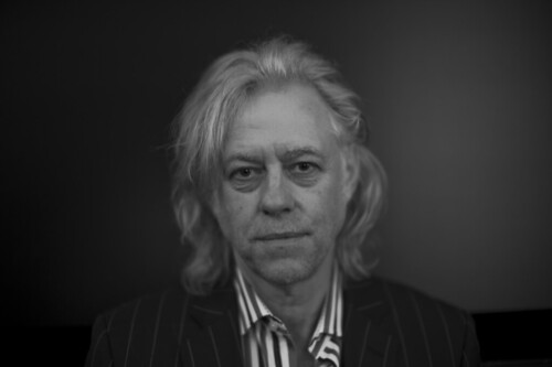 Sir Bob Geldof in the Belvedere, Vienna
