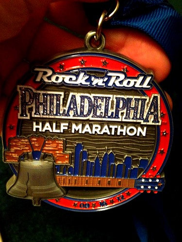 Heavy medal Philly style @runrocknroll