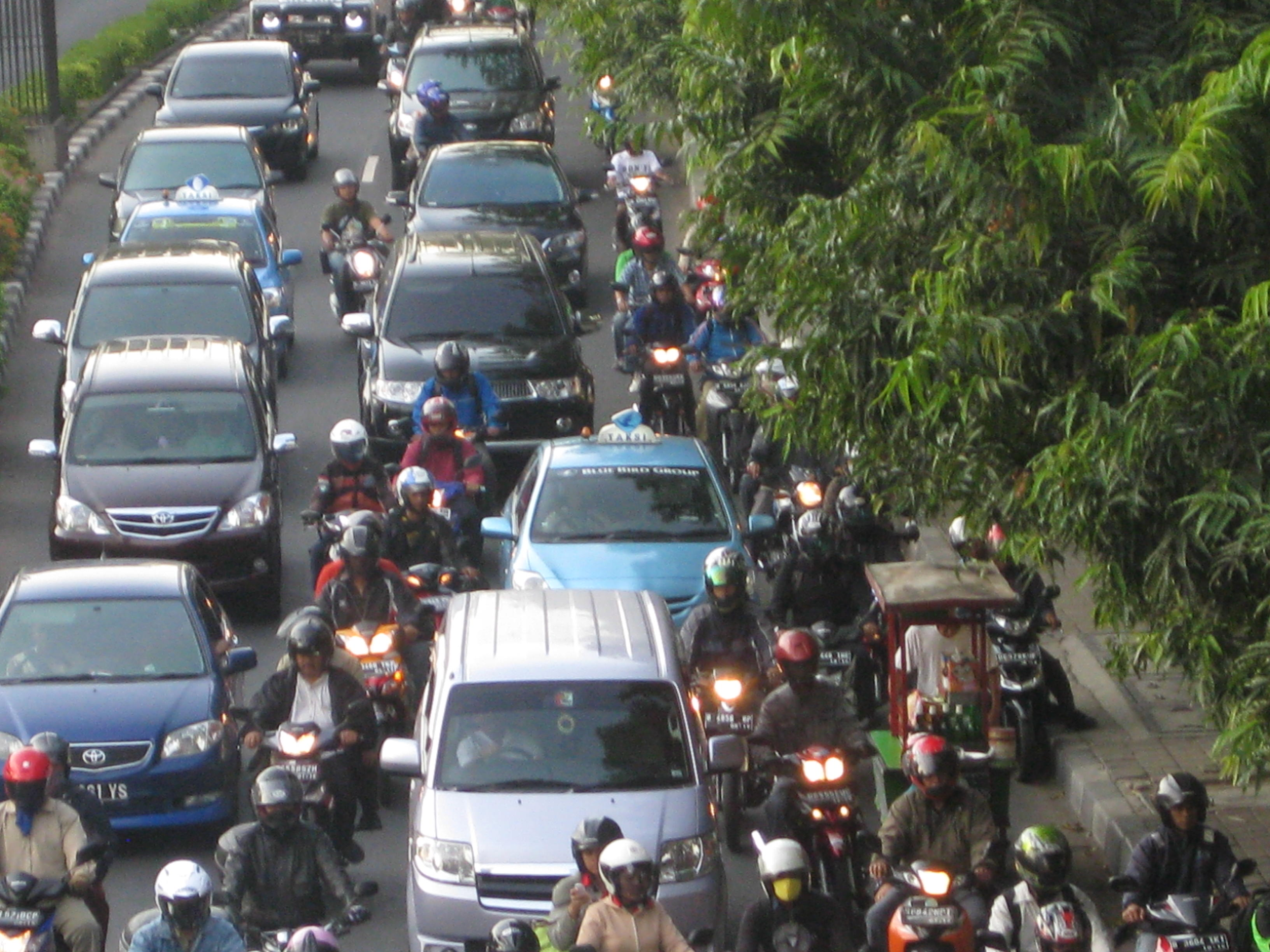 Indonesia Traffic Jam Name For a Traffic Jam