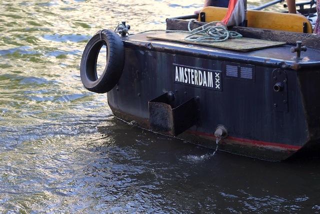 Amsterdam boat bumper