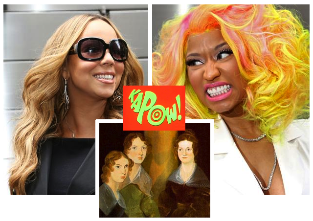 Mariah Carey vs Nicki Minaj vs The Bronte Sisters