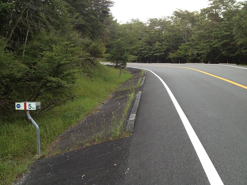 富士あざみライン 5km地点