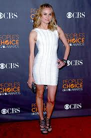 Diane Kruger Bandage Dress Herve Leger Celebrity Style Women's Fashion