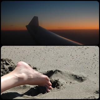 Image of Playa de La Garita. sky beach plane playa cielo 366 diptic proyecto366 366project projecto366 dipticapp dipticdipticapp366366projectproyecto366playabeachskyplane