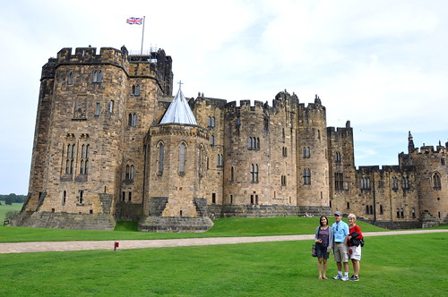 Newer side of Alnwick Castle