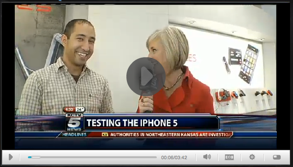iPHONE 5, Ramsey Mohsen on KCTV5