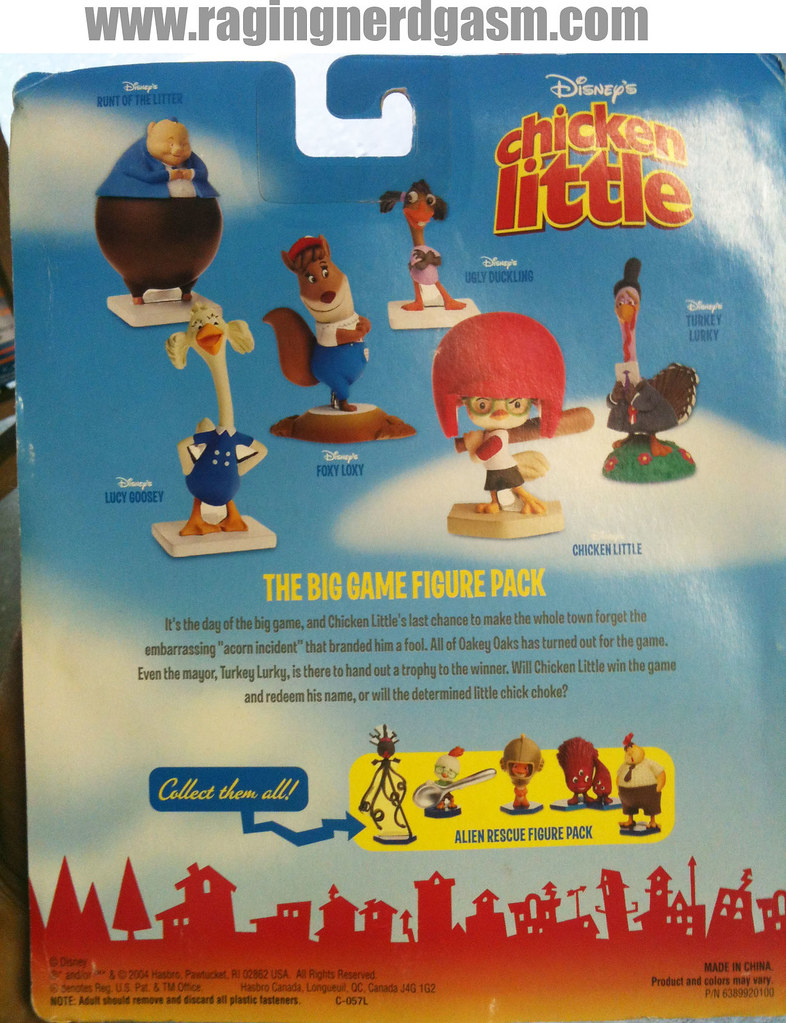Dysney's Chicken Little The Big Game Figure Pack 006