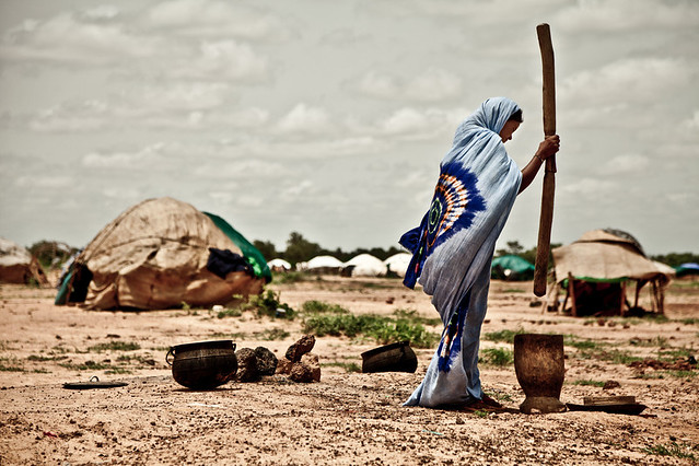 Mentao Nord camp in Burkina Faso September 21, 2012, by Pablo Tosco, Oxfam International.