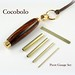 Small photo of Picot Gauge Set with Cocobolo Case