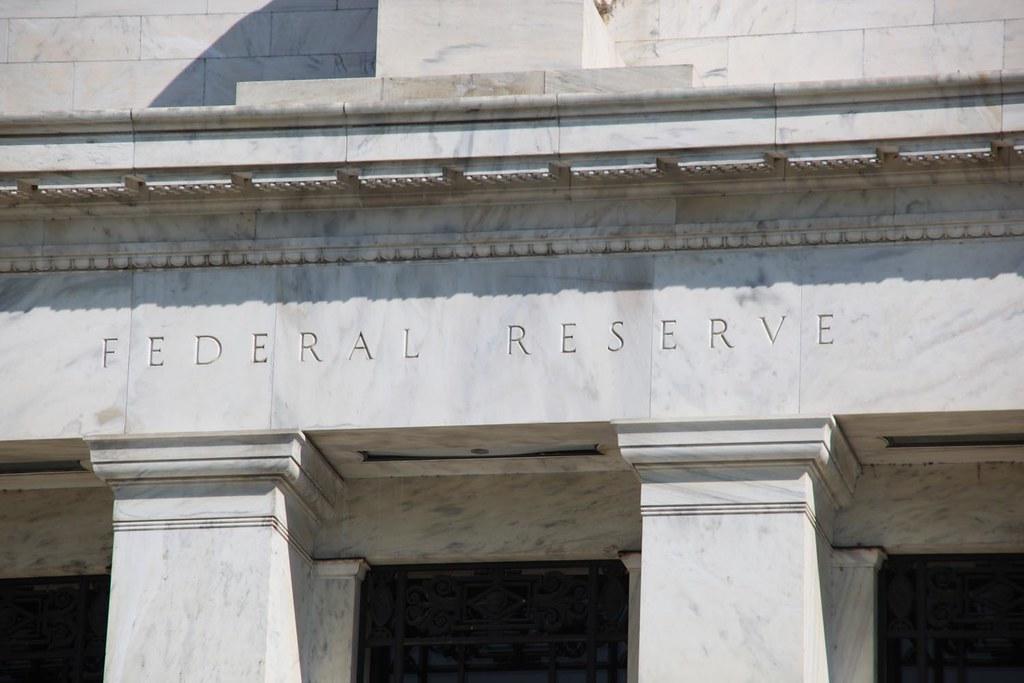Federal Reserve Building - entablature - 2012-09-13