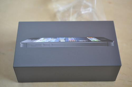 iPhone5 届いた