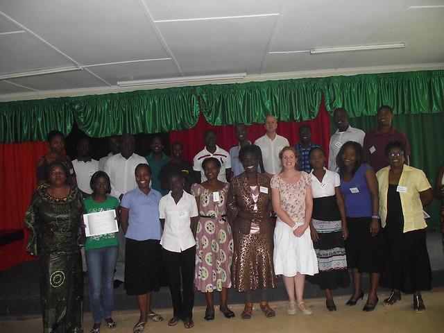 The graduates and 2 mzungus