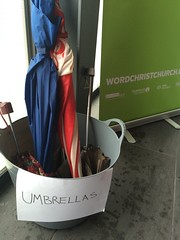 A place for umbrellas