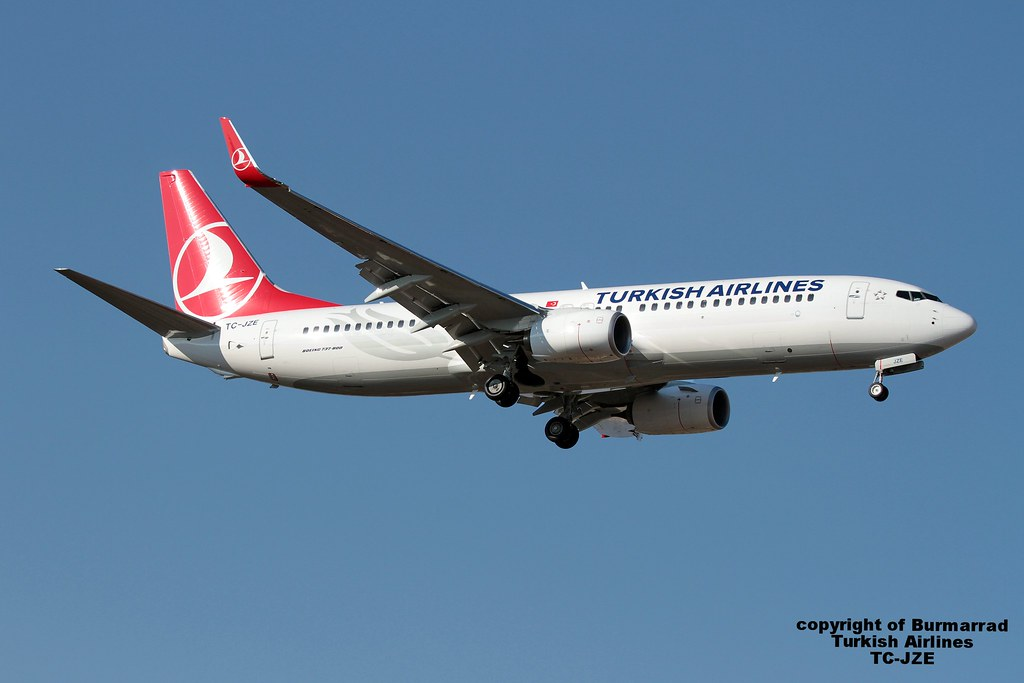 TC-JZE - B738 - Turkish Airlines