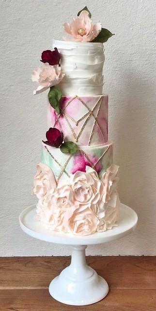 Wedding Cake from MODwedding