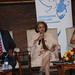Amb. Sahle-Work Zewde, UN Under-Secretary General and Director General, United Nations Office at Nairobi making her remarks at the launch