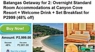 Overnight at Canyon Cove Resort Batangas Promo