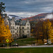 Foggy Fall (Williams College) by 10mmm