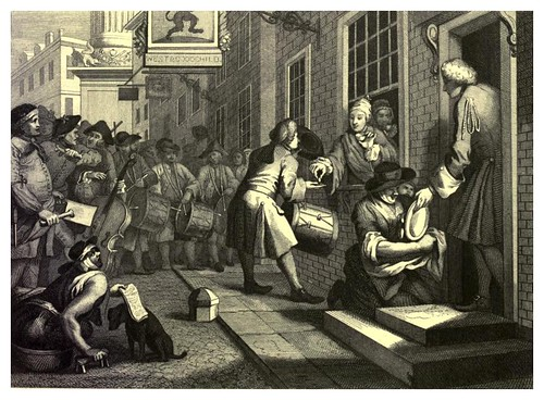 017-Industriosidad y pereza--The works of William Hogarth  in a series of engravings-1860