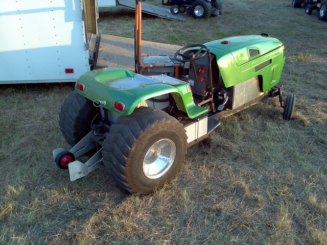 Electric Pulling Garden Tractor Flickr Photo Sharing