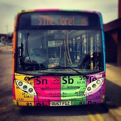 Periodic Table Bus Head-On