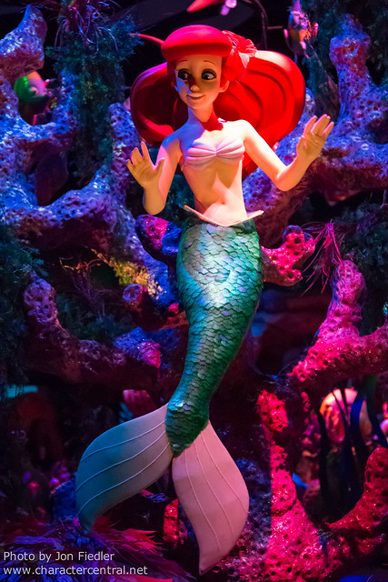 Disneyland July 2012 - The Little Mermaid - Ariel's Undersea Adventure