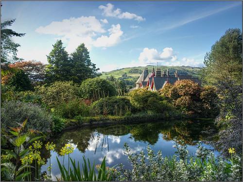 Holehird Gardens - Troutbeck, Cumbria by Herb Riddle