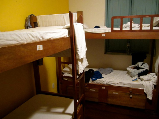 hostel dorm in rio