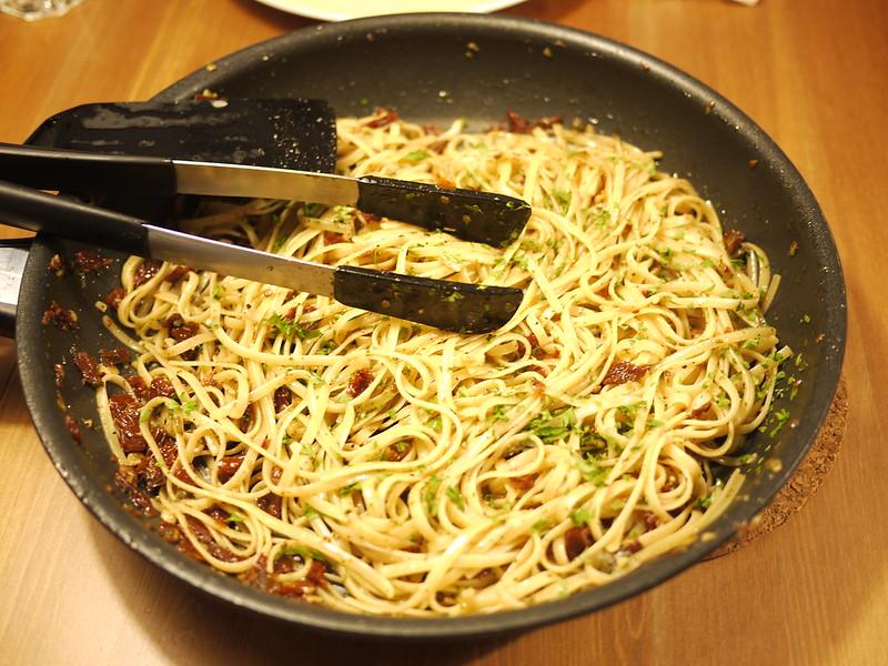番茄乾義大利麵
