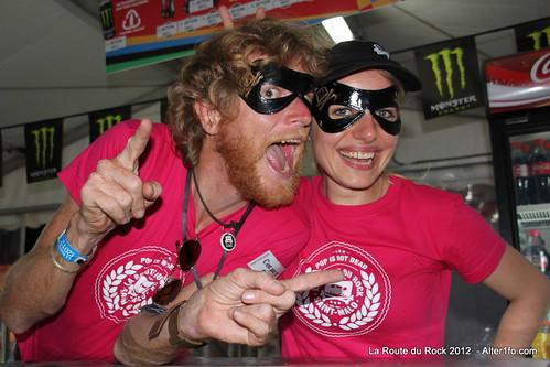 Bénévoles @ Route du Rock 2012 - Alter1fo