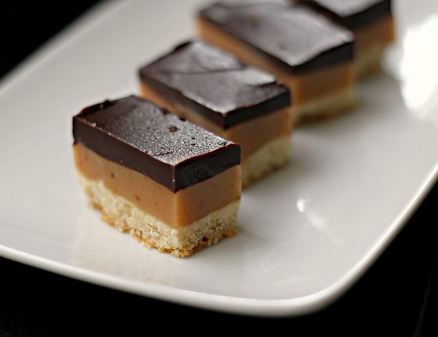 Chocolate Caramel Shortcake