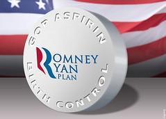 Romney Ryan Plan Birth Control by DonkeyHotey