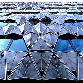 Origami building, Barclays headquarters, Paris, France