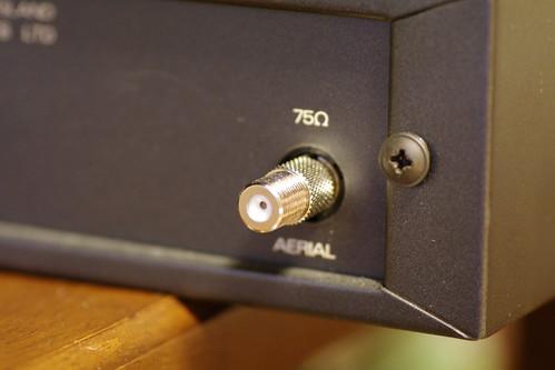 QUAD FM4をFコネクタ化