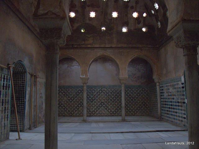 Sala caliente del ba o de comares al buma caldarium o - Banos arabes palacio de comares ...