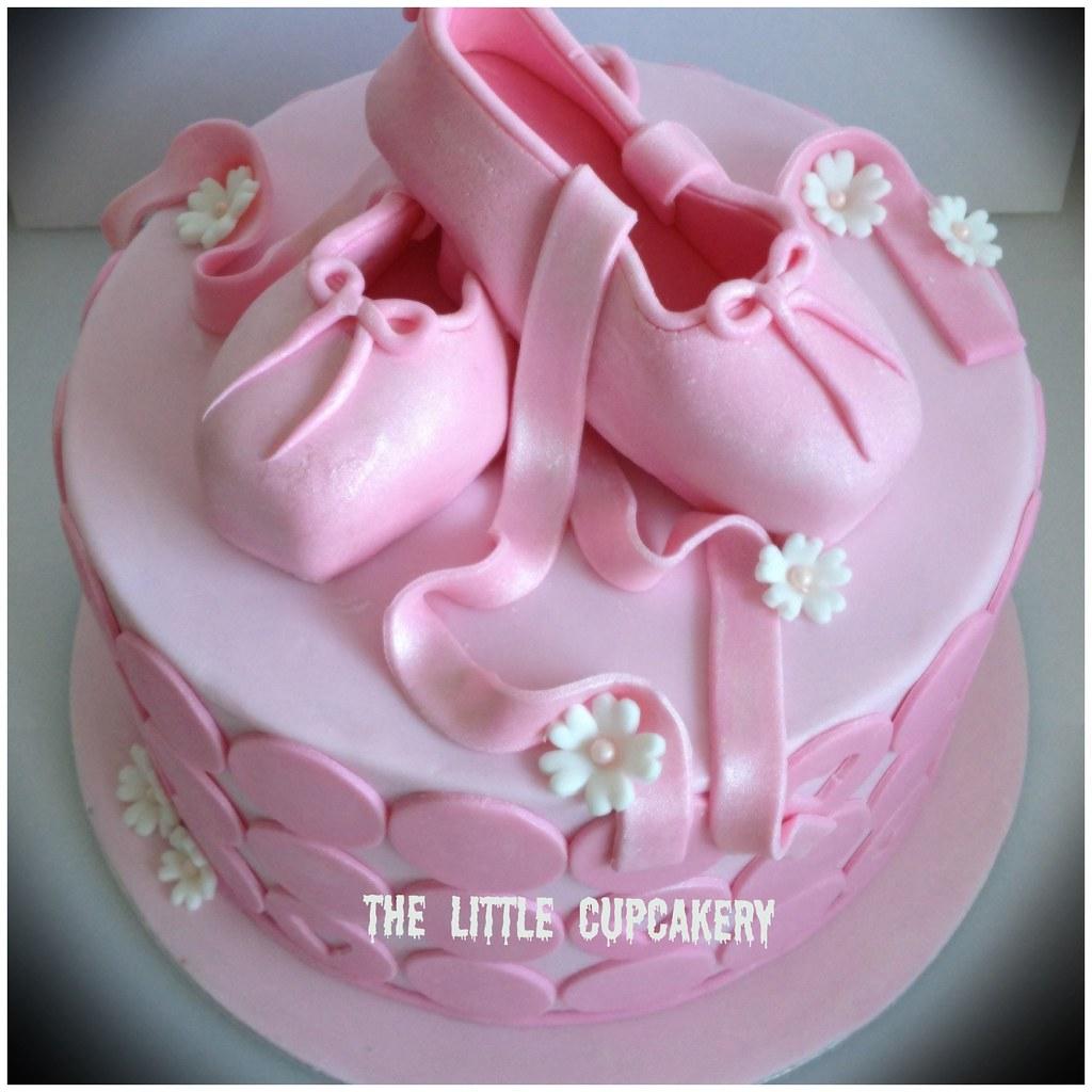 Pretty Ballet Cake