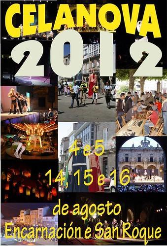 Celanova 2012 - Festas de San Roque - cartel
