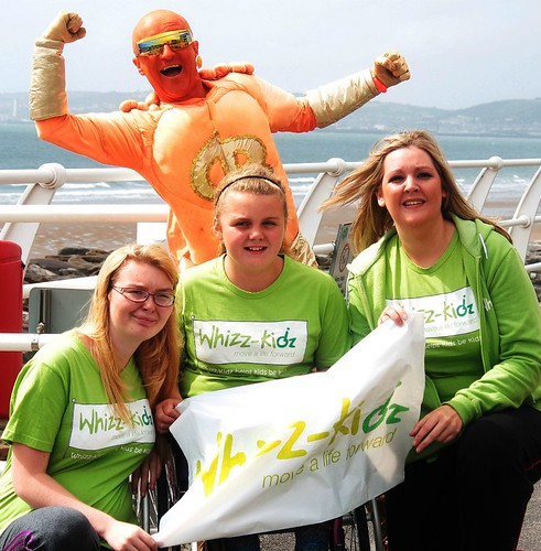 Whizz kidz sponsored walk