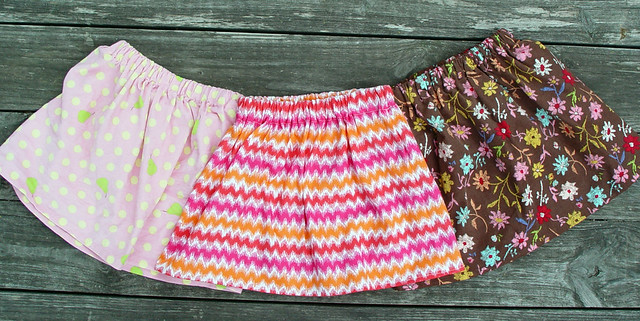 Three more Easy-Peasy Skirts