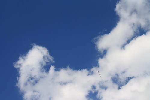 Kite On Clouds