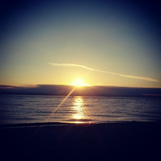Sunset, Golden Gardens. #letspretendthishappened