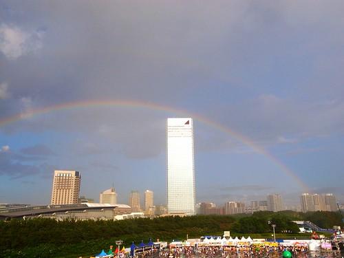 Summer Sonic 2012 虹が出た