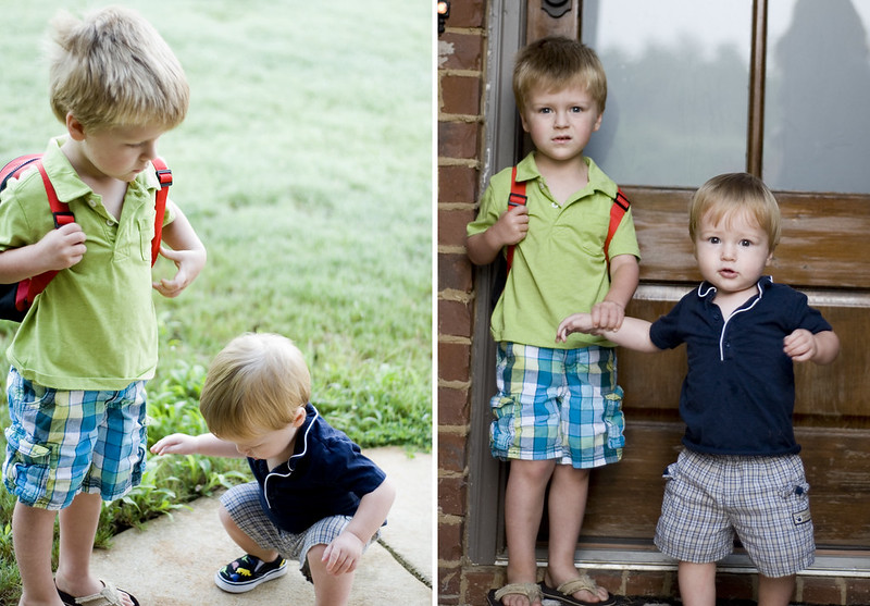 FirstDay_Cayden&Sawyer_8.20.12
